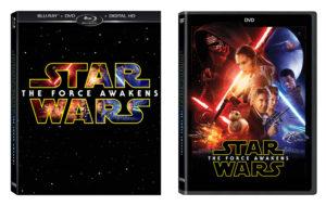Star Wars: The Force Awakens DVD en Blu-ray aangekondigd