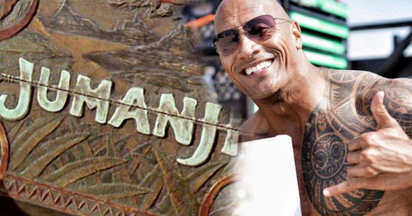 Dwayne Johnson officieel in Jumanji remake