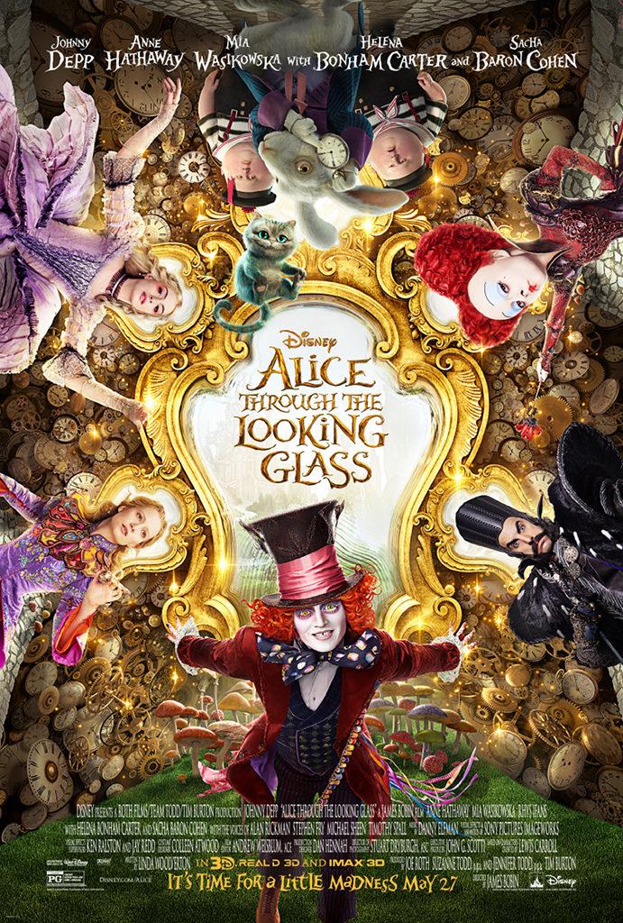 Laatste trailer Alice Through the Looking Glass