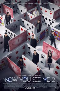 Nieuwe Now You See Me 2 poster