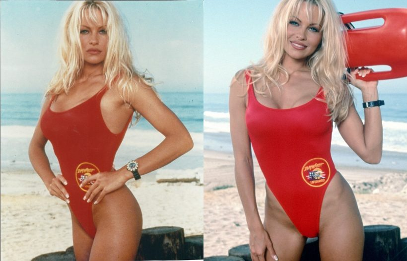 Pamela Anderson in Baywatch film