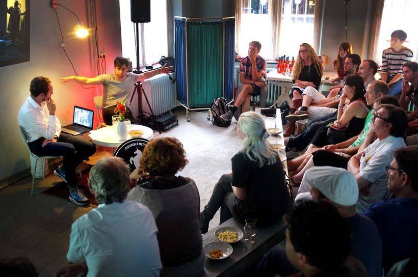 Nieuwe Filmers organiseert 3 filmcafés