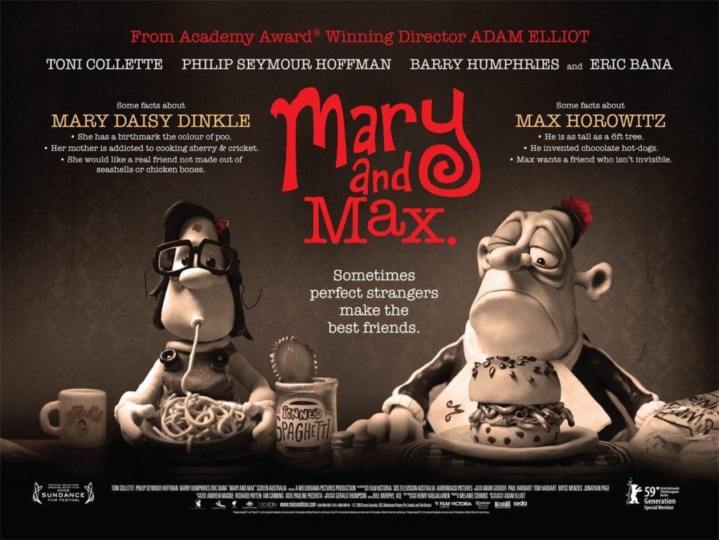 20 Volwassene Animatiefilms – deel 2 - Mary and Max