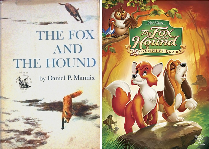 20 Volwassene Animatiefilms – deel 2 - The Fox and the Hound