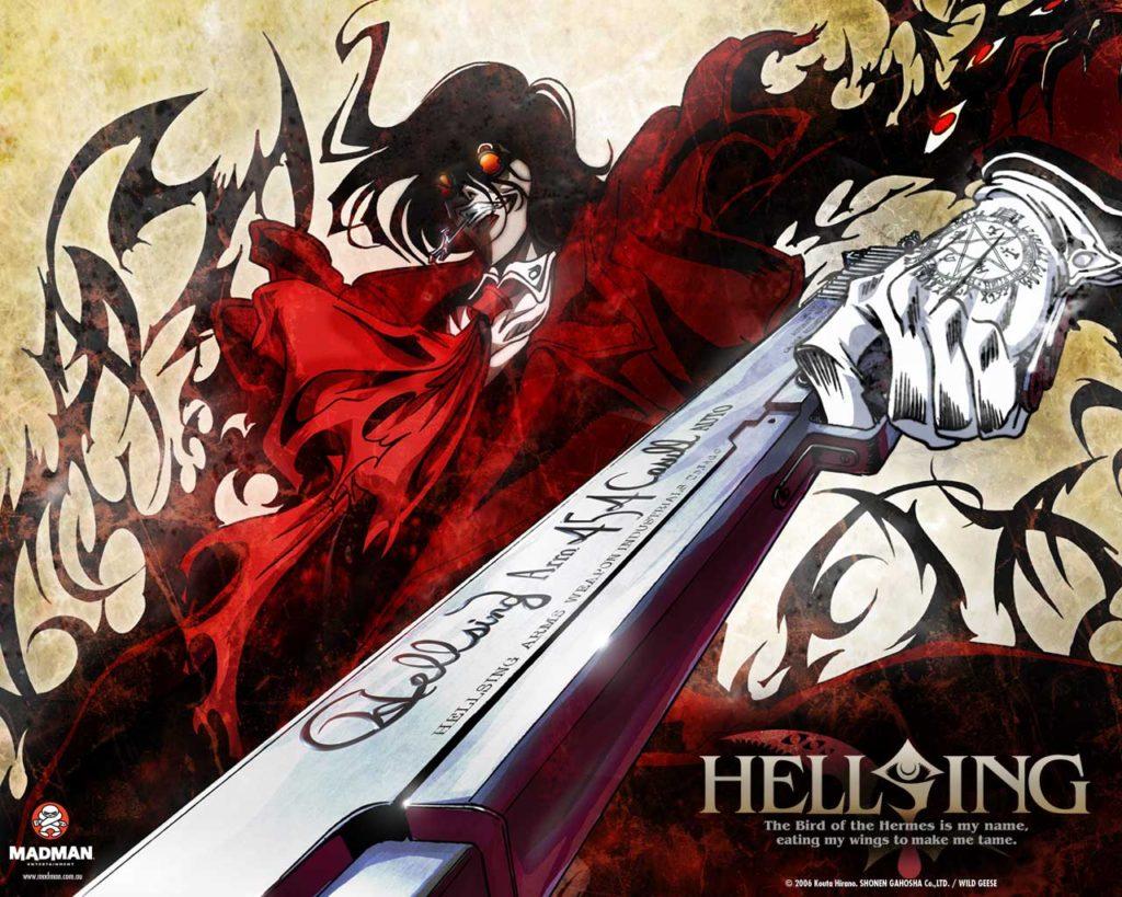 20 Volwassene Animatiefilms – deel 4 - Hellsing