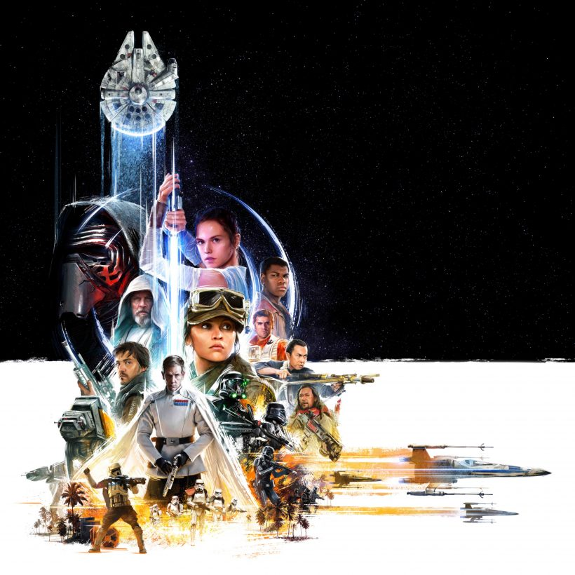Speciale Star Wars Celebration 2016 poster