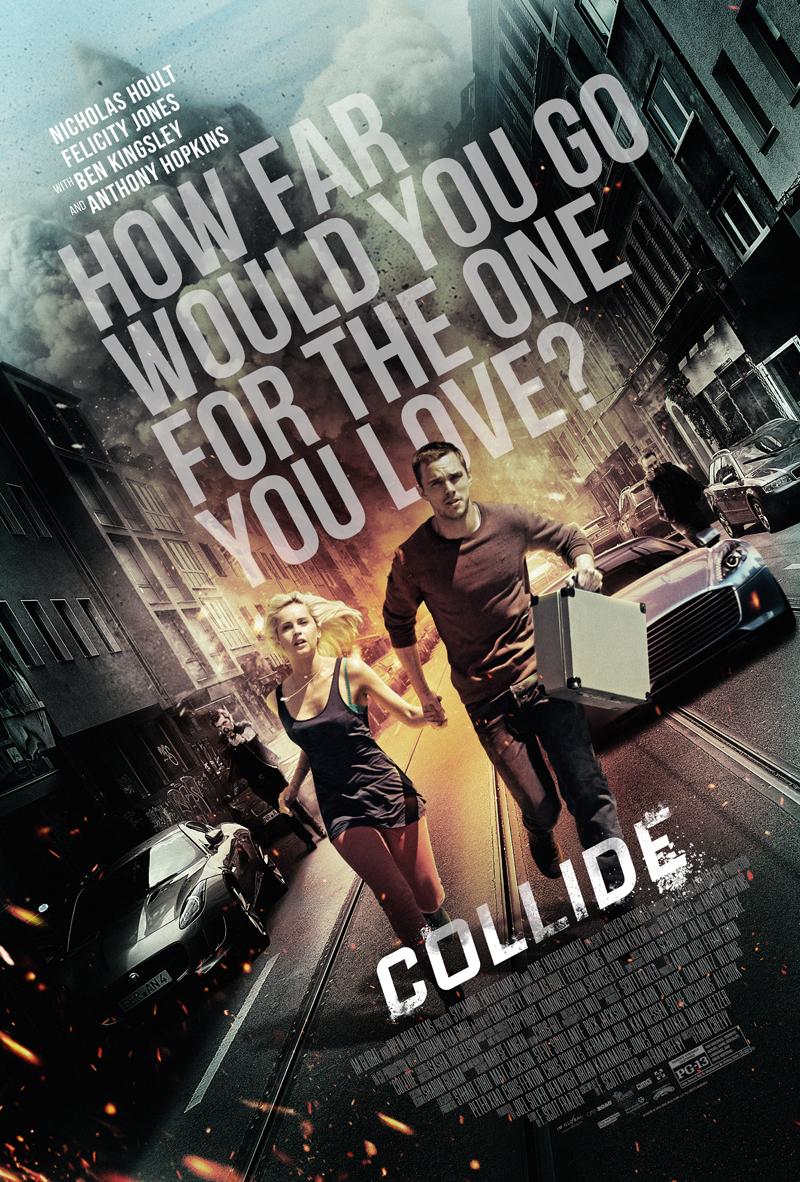 Collide trailer & poster met Nicholas Hoult & Felicity Jones