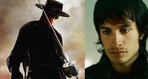 Gael Garcia Bernal speelt hoofdrol in nieuwe Zorro-film