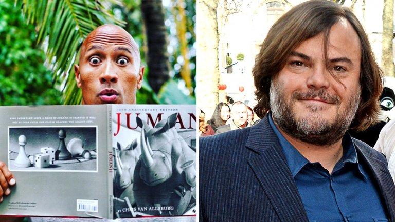 Jack Black in Jumanji reboot