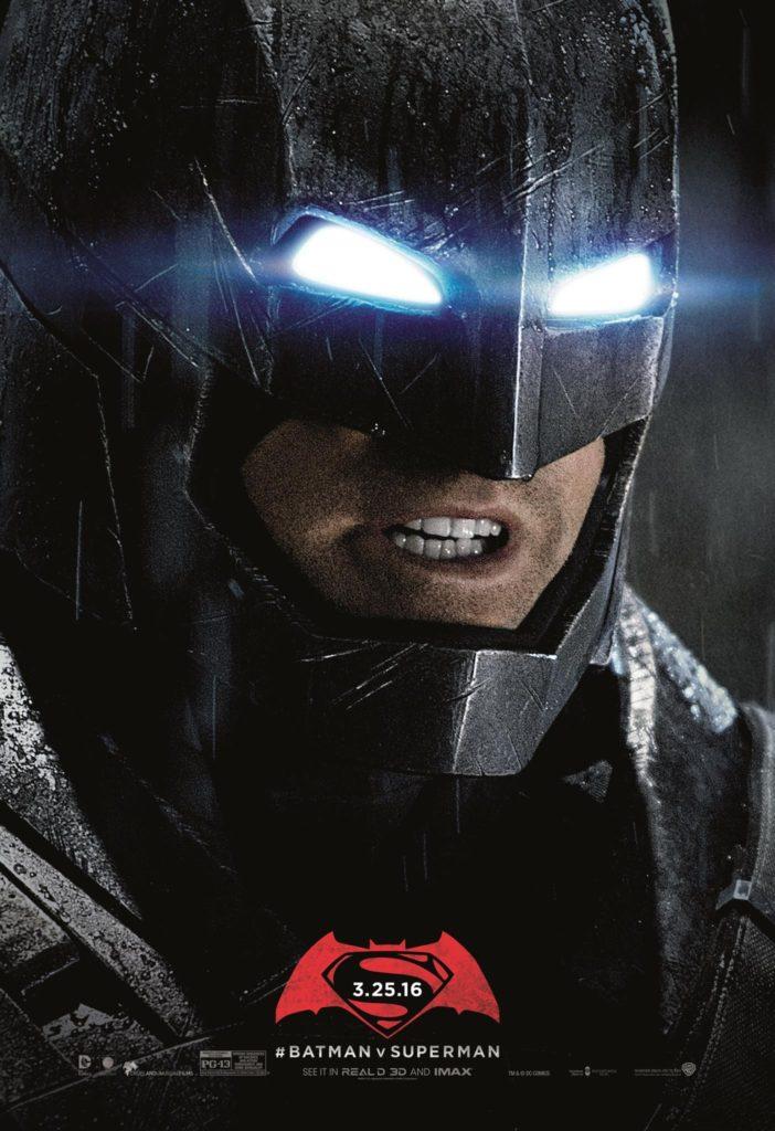 Ongebruikte Batman v Superman Dawn of Justice posters