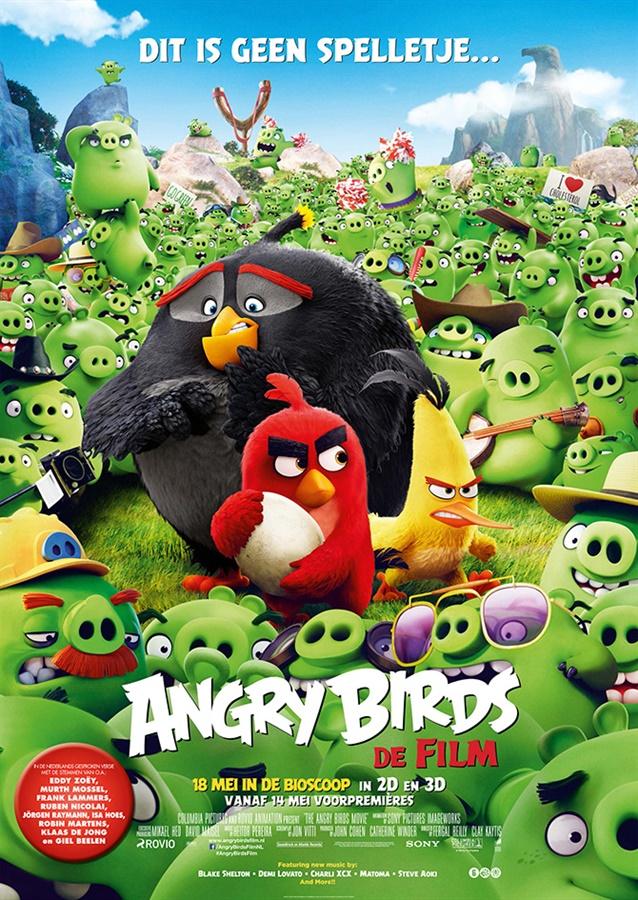 Recensie The Angry Birds Movie (Erik Jansen)