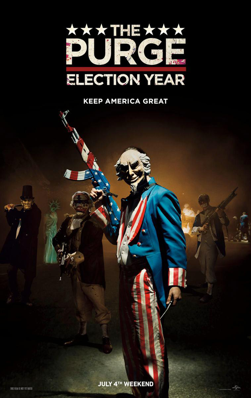 Nieuwe The Purge: Election Year trailer