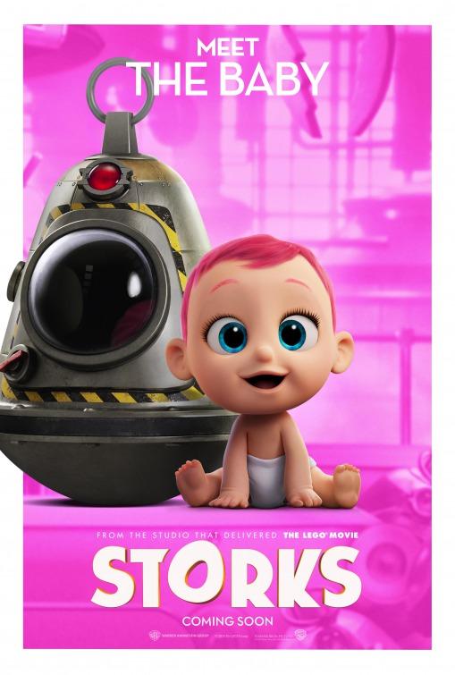 Volledige trailer & posters Storks