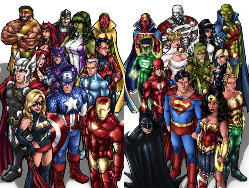 Studenten onderzoek: wie is de machtigste superheld?