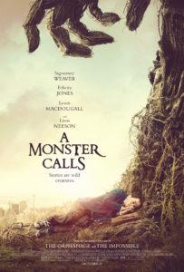 A Monster Calls poster met Liam Neeson