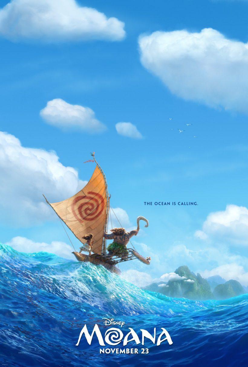 Eerste poster Walt Disney's Moana