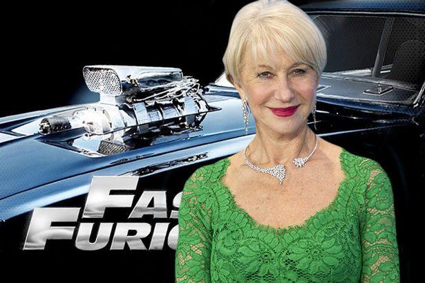 Helen Mirren toegevoegd aan Fast 8