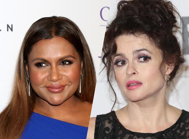 Mindy Kaling & Helena Bonham Carter in Ocean's Eleven reboot