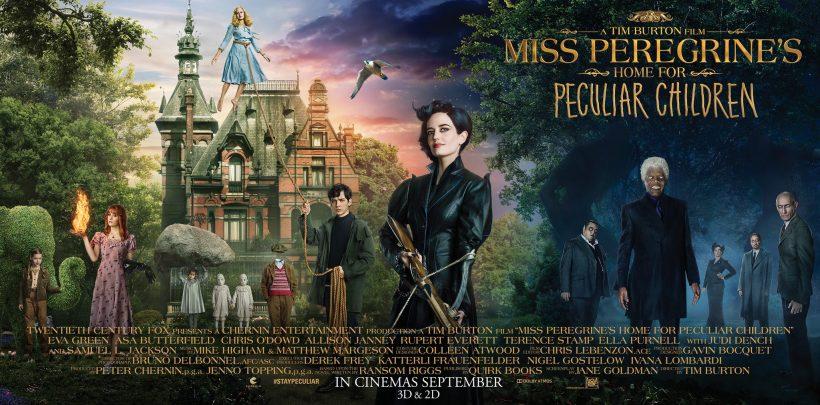Volledige trailer Tim Burtons Miss Peregrine's Home for Peculiar Children
