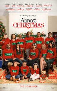 Nieuwe Almost Christmas trailer en poster