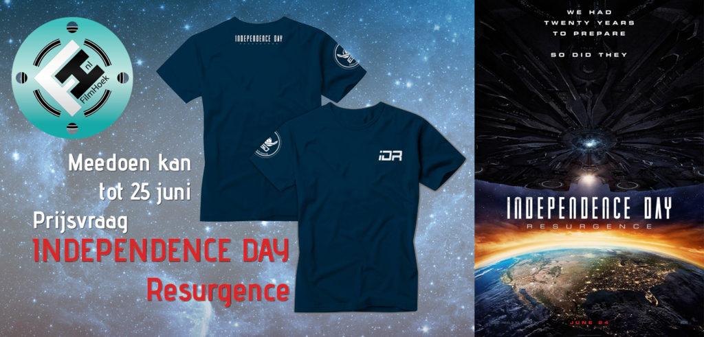 Prijsvraag Independece Day Resurgence 2