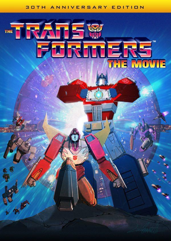 Blu-ray Transformers: The Movie (30ste jubileum)