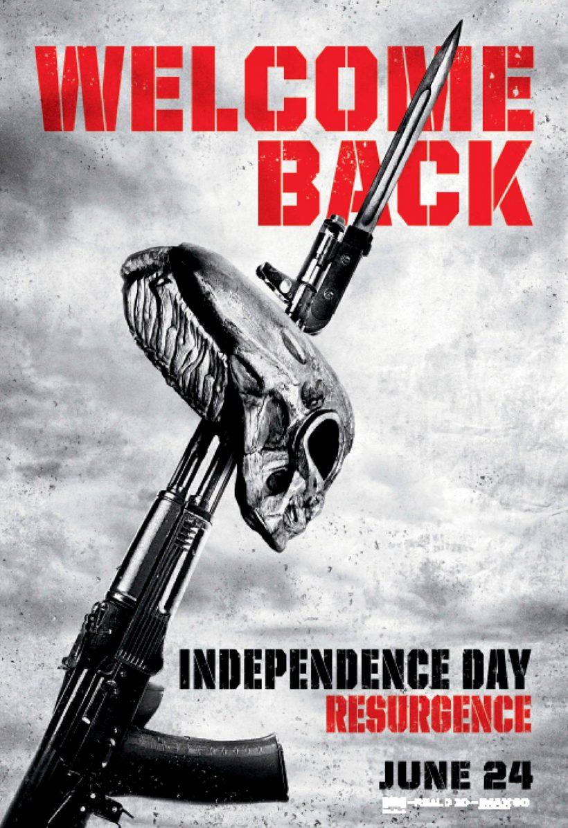 Welcome Back: De nieuwe Independence Day poster en clip
