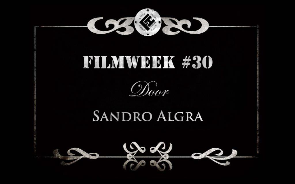Filmweek 30 door Sandro