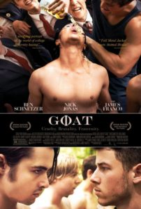 Goat trailer met James Franco