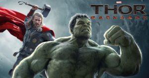 Mark Ruffalo op set Thor: Ragnarök