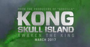 Nieuwe motion poster Kong: Skull Island