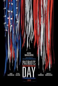 Nieuwe poster Patriots Day met Mark Wahlberg