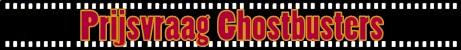 Uitslag prijsvraag Ghostbusters