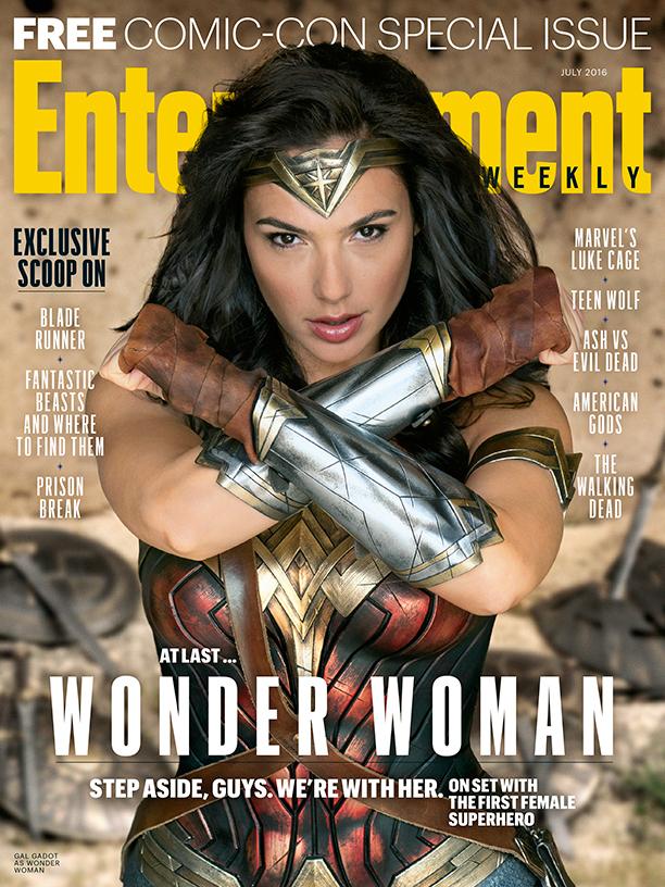 SDCC2016 Nieuwe foto Wonder Woman