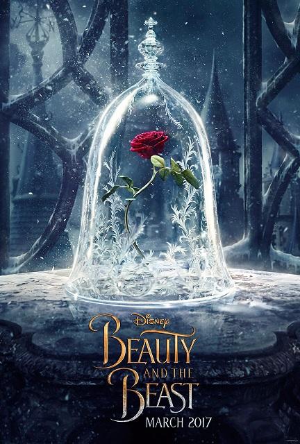 Eerste poster Disney's Beauty and the Beast