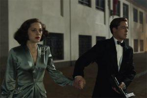 Eerste Allied trailer met Brad Pitt & Marion Cotillard