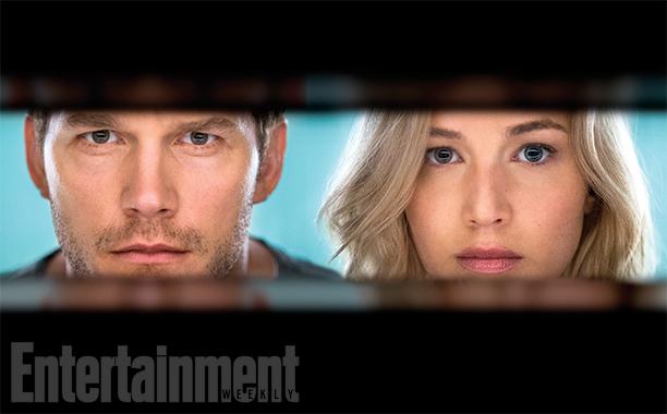 Eerste foto Passengers met Jennifer Lawrence en Chris Pratt