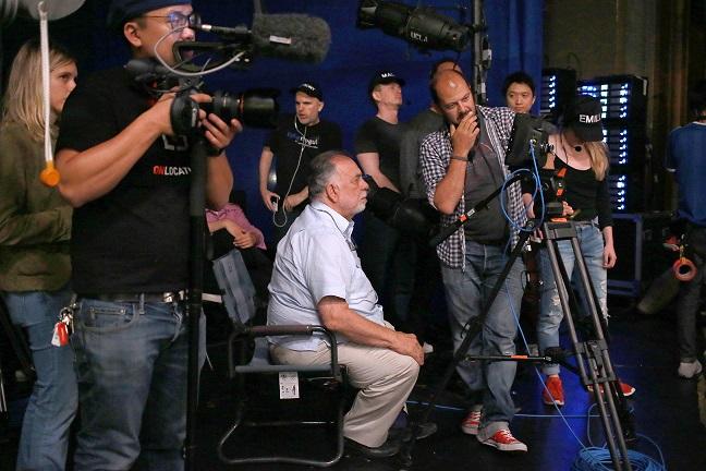 Francis Ford Coppola maakt live cinema