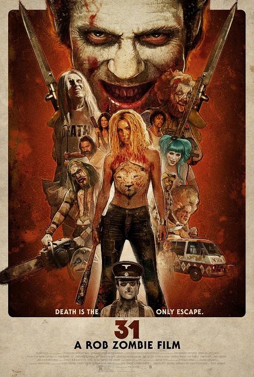 Rob Zombie's 31 krijgt laatste poster