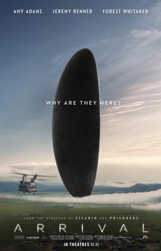 Volledige trailer en 12 posters Arrival