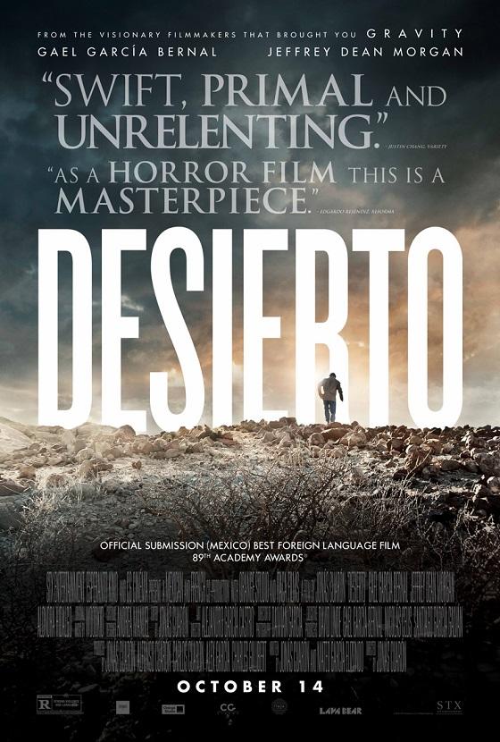 Desierto trailer met Gael Garcia Bernal en Jeffrey Dean Morgan