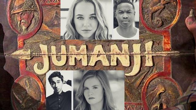 Nieuwe namen toegevoegd aan cast Jumanji