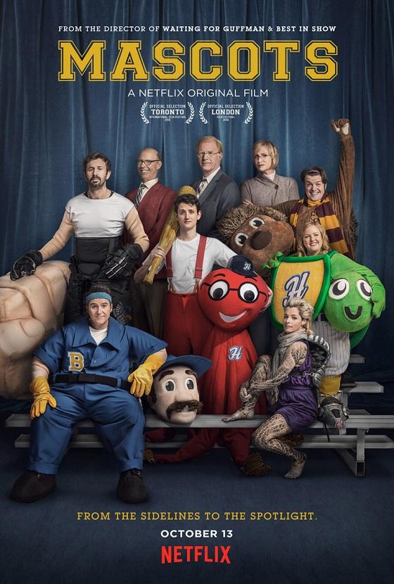 Eerste trailer en poster voor Netflix' Mascots