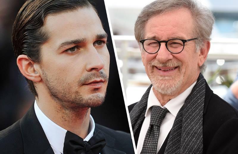 Shia LaBeouf haalt uit naar Steven Spielberg