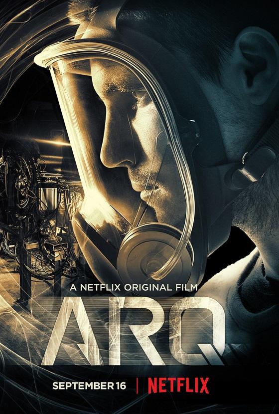Robbie Amell in Netflix's ARQ trailer en poster