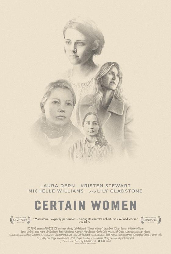 Trailer en poster Certain Women met Kristen Stewart