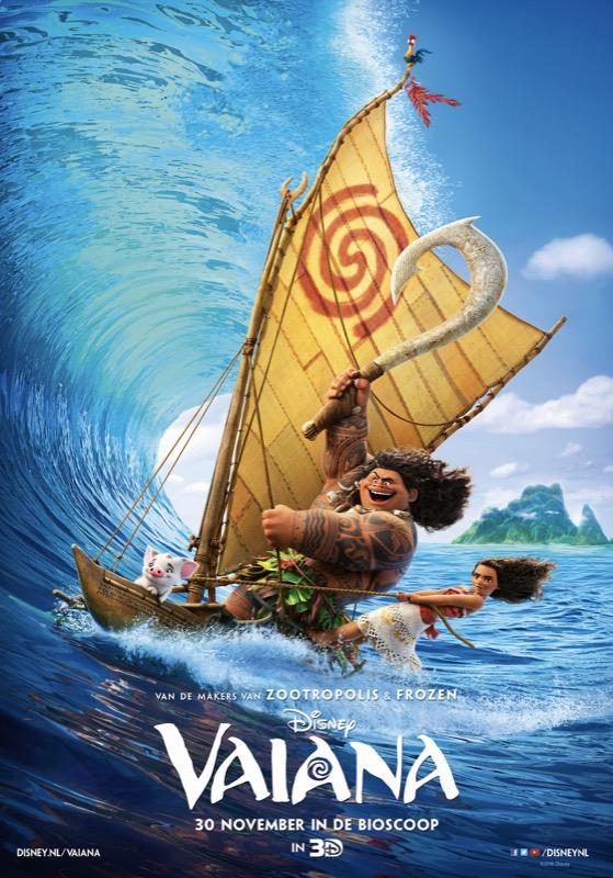Nieuwe internationale trailer Disney's Moana