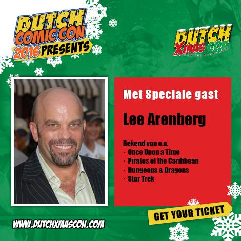 Lee Arenberg aanwezig op Dutch X-Mas Con 2016