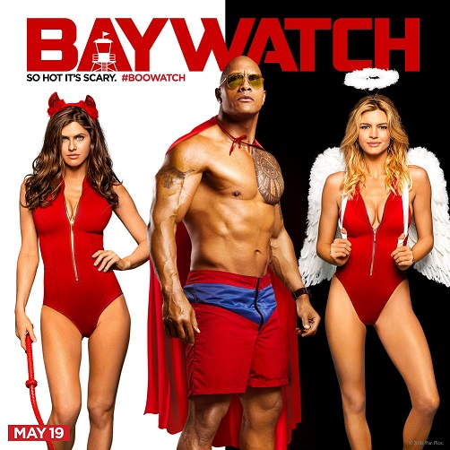 Halloween promo's voor Baywatch