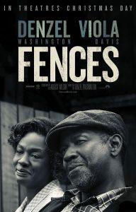 Eerste poster Fences met Denzel Washington en Viola Davis